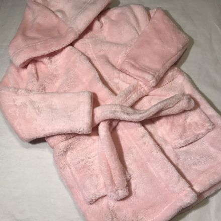6-9 Month Pink Fluffy Gown